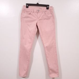 AMERICAN EAGLE Pink Skinny Stretch Size 4